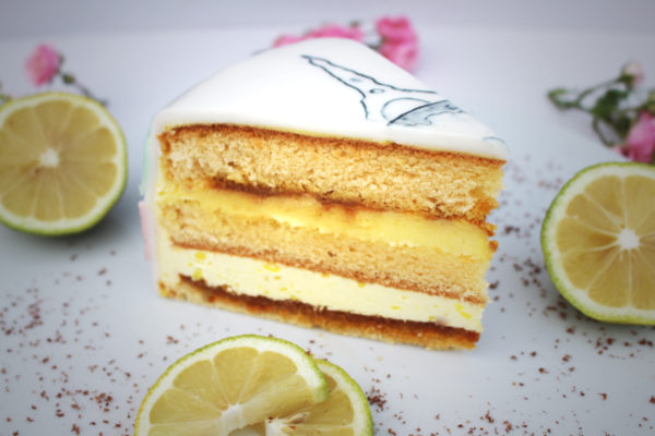 Zitronen-Karamell Torte