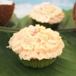 Bananen-Cupcakes mit Kokosfrosting
