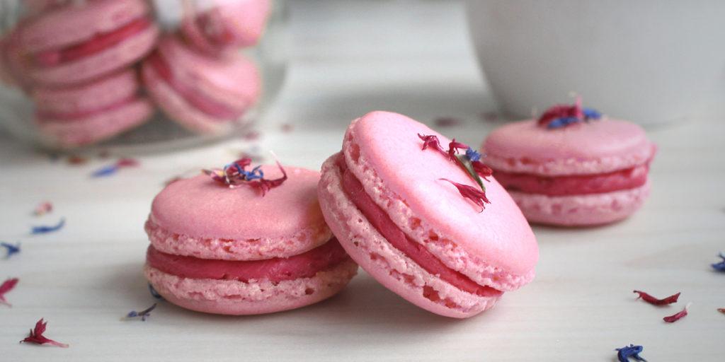 Himbeer Macarons