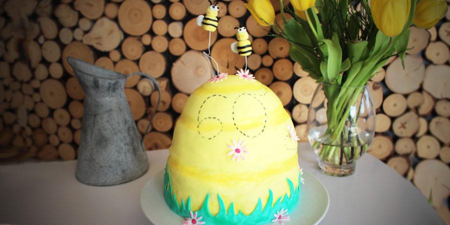 Bienenstock Motivtorte