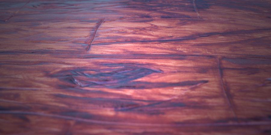 Holz aus Fondant zaubern