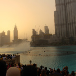 Wasserspiele Dubai mall