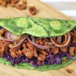 """Pulled Jackfrucht Taco - Die vegane Variante zum """"Pulled Pork"""""""