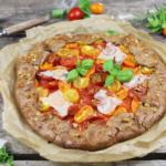 Mediterrane Tomaten Galette - Wer braucht schon Pizza??