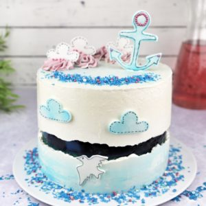 Sprinkles Fault Line Cake