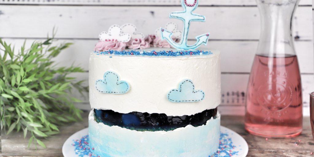 sprinkle fault line cake 3
