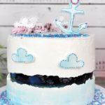 "[Anzeige] Sprinkles Fault Line Cake  ""Heimathafen... Ahoi Matrose"""