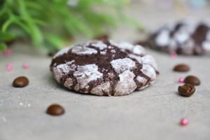 Crinkles Schokolade mit Kaffee