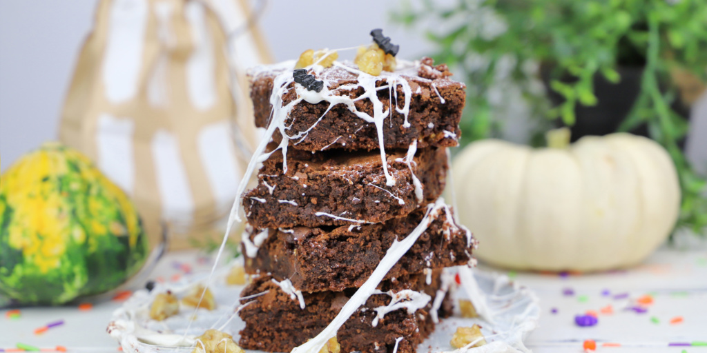 halloween brownies blog