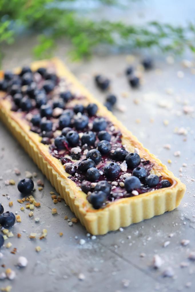 Beeren Tarte Blueberry Cheesecake Eierlikör