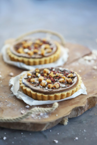 Nutella Cheesecake Tartelettes