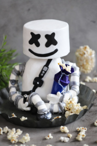 Motivtorte Marshmello Fortnite