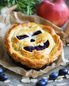Mini Halloween Pie