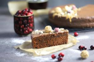 Schokoladenkuchen Malzbier