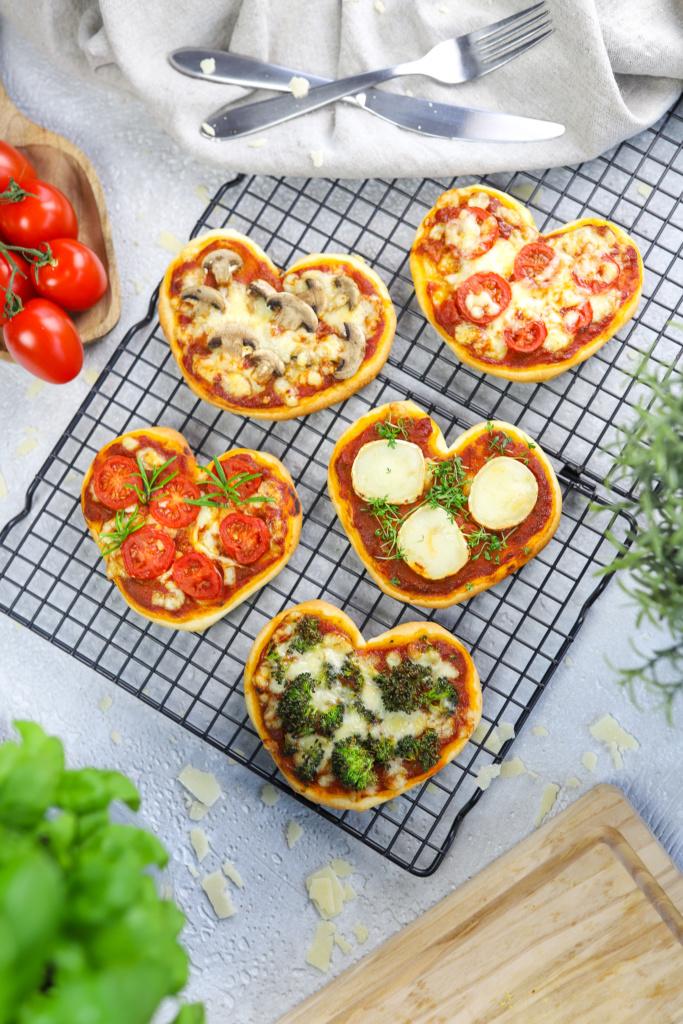 Pizzaherzen Mini - Valentinstag