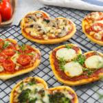 Pizzaherzen im Miniformat- Mit viel Liebe gemacht