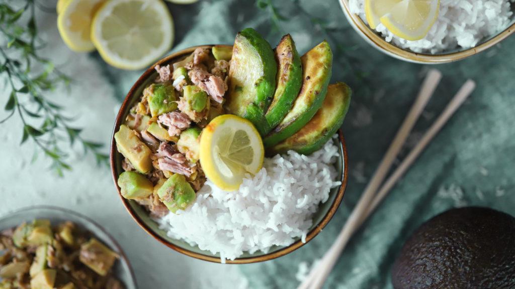 Thunfisch avocado bowl blog