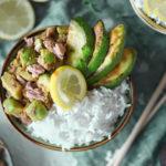 Thunfisch Avocado Bowl - OnePot Deluxe auf Asiatisch