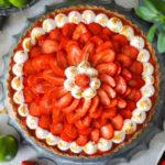 """Fruchtige Erdbeer Limetten Tarte - """"Upgrade Erdbeerkuchen"""""""