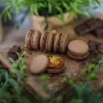 Karamell Frozen Cappuccino Macarons - Let the summer begin!