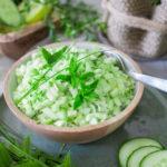 Apfel Gurken Salat mit Minze - Mein Sommersalat!