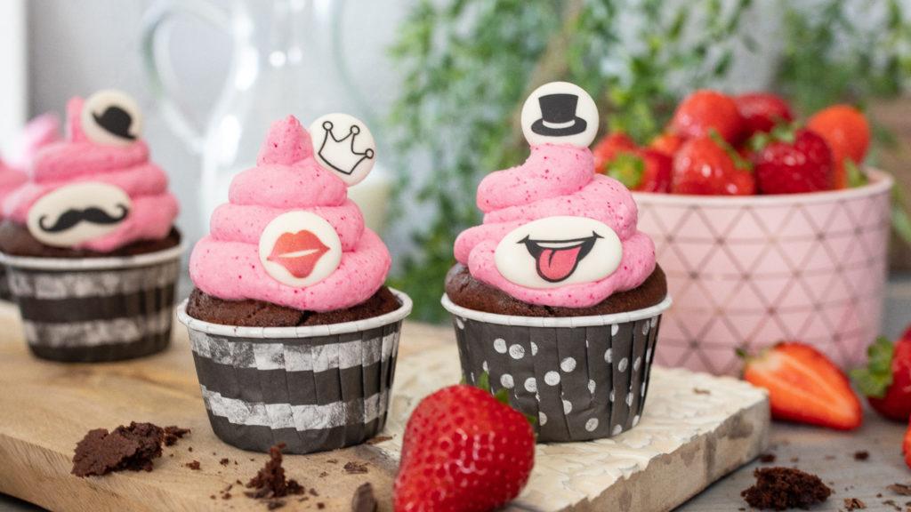 erdbeer cupcake blog