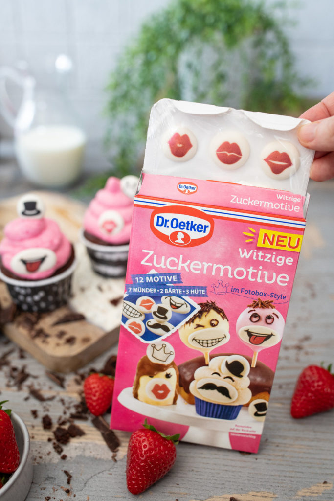 witzige Zuckermotive für Cupcakes und Muffins